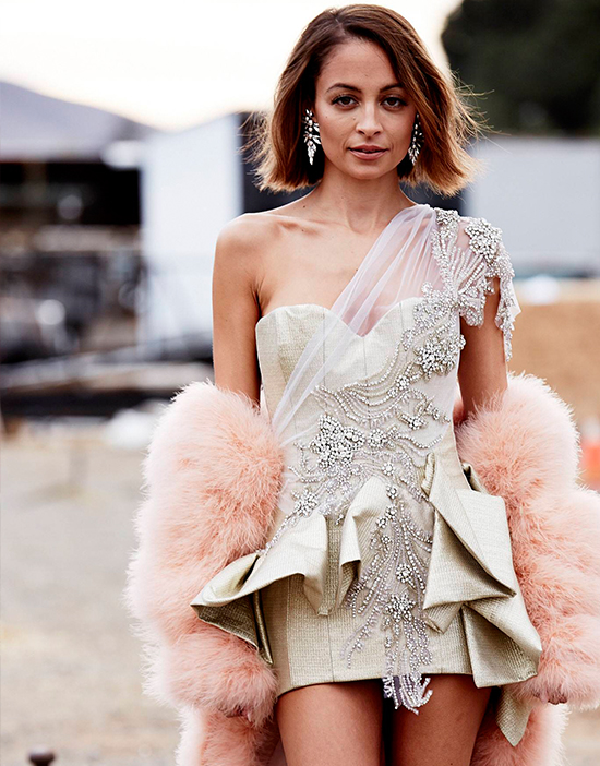 Nicole Richie covers ELLE Australia July 2014